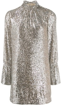 Zadig & Voltaire Fashion Show D Rumer sequin dress