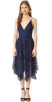 Nicholas Geo Floral Lace Ball Dress