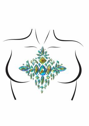 Leg Avenue Women's Ocean Adhesive Body Jewels Sticker