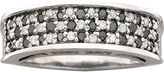 JCPenney FINE JEWELRY 1/2 CT. T.W. Genuine Black & White Diamond Ring