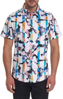 Robert Graham Men's Calazans Graphic Short-Sleeve Sport Shirt