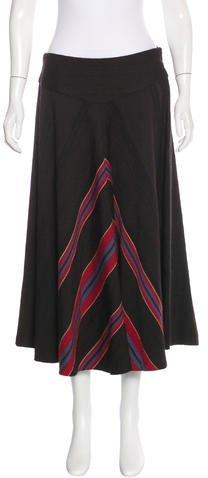 Ralph Lauren Alpaca & Wool-Blend Skirt w/ Tags