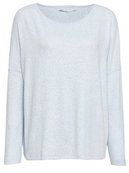 Dorothy Perkins Womens Only Blue Crew Neck Jumper, Blue