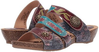 Spring Step L'Artiste by Jamila (Cabernet Multi) Women's Shoes
