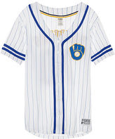 PINK Milwaukee Brewers Button Down Jersey