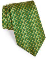 Vineyard Vines Men's Oakland Athletics - Mlb Woven Silk Tie