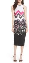 Ted Baker Women's Seenaa Print Jersey Midi Dress