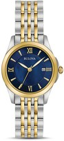 Bulova Two-Tone Modern Watch, 27mm