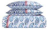 Sky Indigo Patchwork Duvet Cover Set, King - 100% Exclusive
