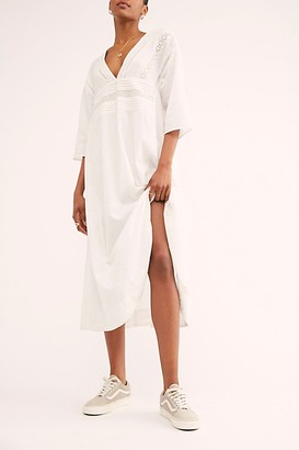 Free People Daybreak Lace Midi Dress