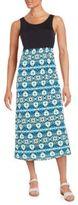 Kensie Printed Midi Dress
