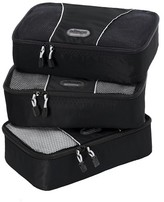 eBags Small Packing Cubes 3pc Set - Black