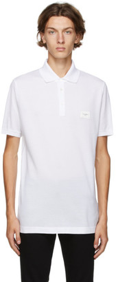 Dolce & Gabbana White Essentials Polo