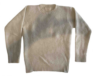 Holiday Ecru Wool Knitwear