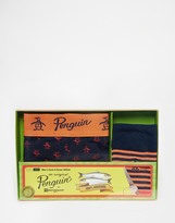 Original Penguin Sock And Trunk Set - Blue