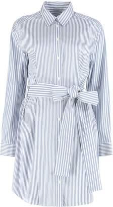 Michael Kors Striped Cotton Shirt-dress