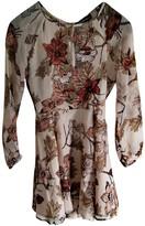 For Love & Lemons Pink Silk Dress for Women