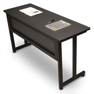 "OFM 55"" Deep Modular Training Table Color: Graphite / Black, Size: 29.5"" H x 55"" L x 24"" W"