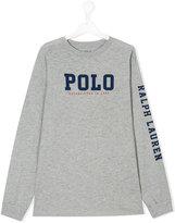 Ralph Lauren branded long-sleeved sweatshirt