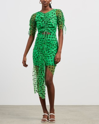 Alice McCall Women's Green Midi Dresses - Stardust Midi Dress - Size 8 at The Iconic
