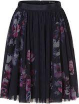 Vera Mont Net layered skirt