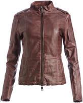 XOXO Burgundy Moto Jacket