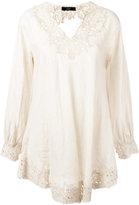 Steffen Schraut floral lace blouse