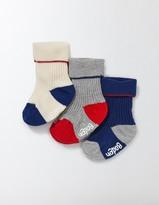 Boden 3 Pack Ribbed Socks