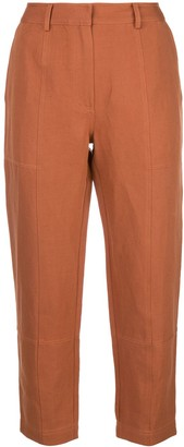 Apiece Apart high-waisted tapered trousers
