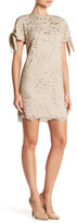 Vince Camuto Lace Tie Sleeve Dress