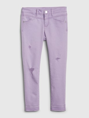 Gap Kids Destructed Super Skinny Ankle Jeans with Stretch