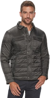 Marc Anthony Men's Lightweight Quilted Shirt Jacket