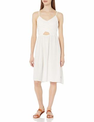 Roxy Women's Good Resolution Bodice Wrap Dress