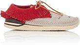 Visvim Men's Mesh & Suede Moccasin Sneakers