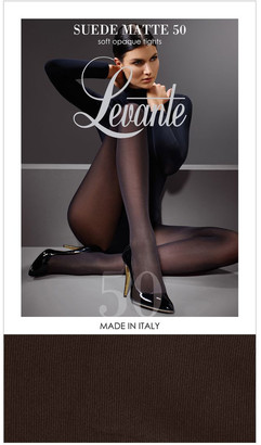 Levante Suede Matte 50D Tight Chocolate