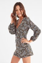 The Fifth Label Jeanne Tie-Front Romper