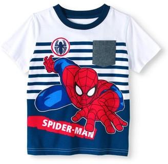 Spiderman Toddler Boys' Short Sleeve Graphic Tee