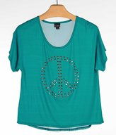 Daytrip Women's Pieced Top in Turquoise
