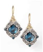Konstantino London Blue Topaz Drop Earrings