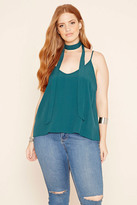 Forever 21 FOREVER 21+ Plus Size Tie-Neck Cami