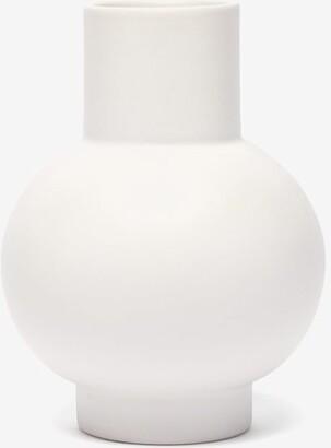 Raawii - Strm Large Ceramic Vase - White