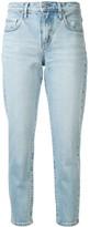 Nobody Denim mid-rise slim cropped jeans