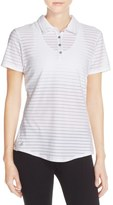 adidas 'Cottonhand' Perforated Polo