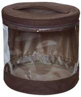 JJ Cole Clear Storage Bin in Cocoa (Set of 2)