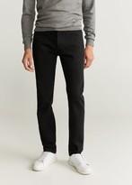 MANGO Slim fit black Jan jeans