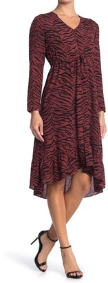 Rails Jade Tiger Striped Midi Dress