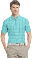 Izod Men's Windowpane Shirt
