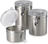 Oggi OggiTM Brushed Stainless Steel Canister
