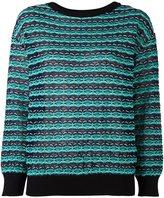 M Missoni textured knit sweater