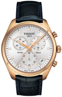 Tissot PR 100 Chronograph Watch, 39mm